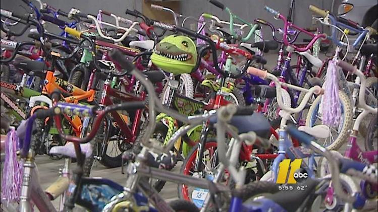 More than 1,000 bikes ready for children in need