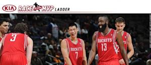 MVP Ladder: Harden enters, but challenges lie ahead