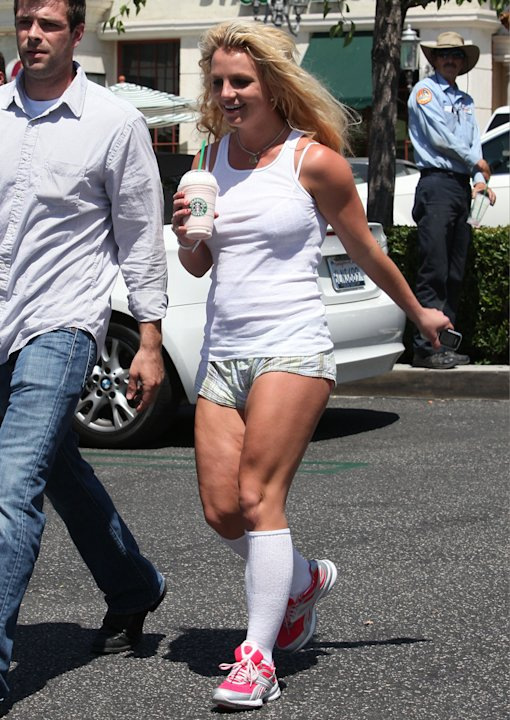 Britney Spears y su celulitis