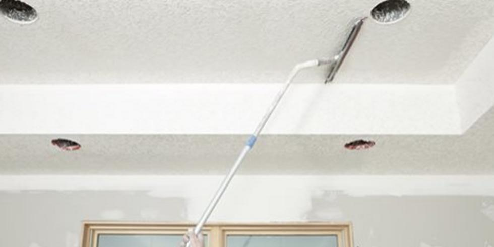 This Simple Trick Removes Popcorn Ceilings Without The Mess