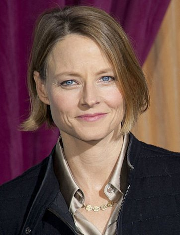 Actress Jodie Foster turns 50 today.