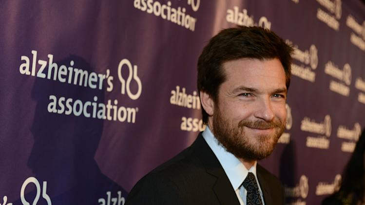 Actor Jason Bateman arrives at the 21st Annual 'A Night at Sardi's' to benefit the Alzheimer's Association at the Beverly Hilton Hotel on Wednesday, March 20, 2013 in Beverly Hills, Calif. (Photo by Jordan Strauss/Invision for Alzheimer's Association/AP Images)