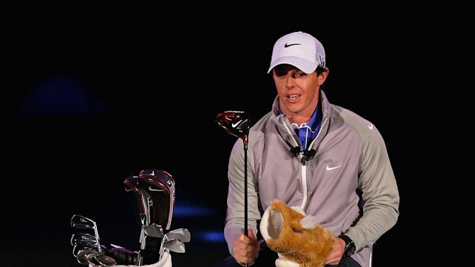 Rory McIlroy is unveiled as new Brand Ambassador for Nike
