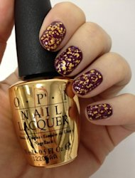 The Man with the Golden Gun by OPI
