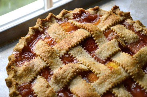 Honest Peach Pie