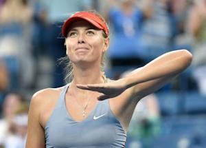 Tennis: U.S. Open-Sharapova vs Delgheru