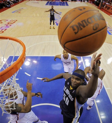 Paul, Griffin lead Clippers over Griz, 87-86