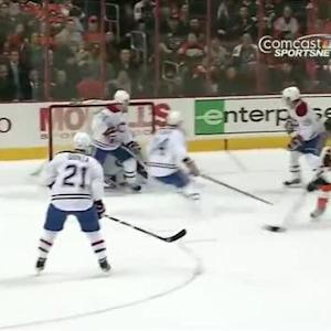 Michael Raffl rips one past Price