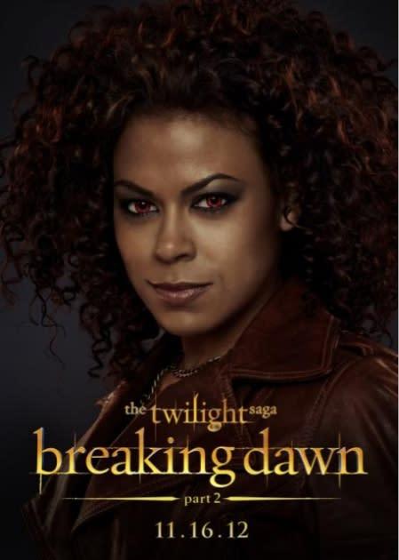 Toni Trucks as Mary, a member of The American Nomadic Vampire coven, 'Twilight Saga: Breaking Dawn - Part 2'  -- Summit Entertainment