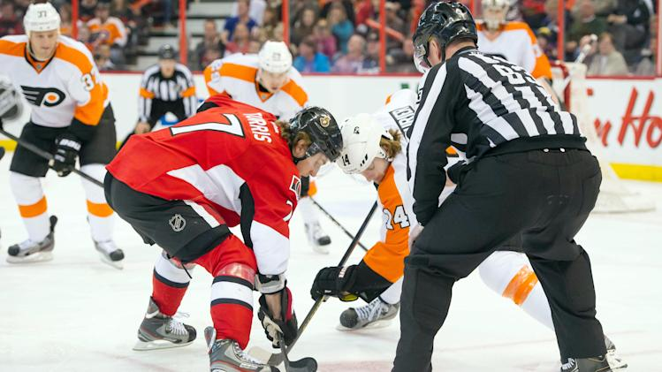 NHL: Philadelphia Flyers at Ottawa Senators