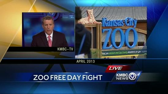 Police presence helps ease problems for KC Zoo's free day