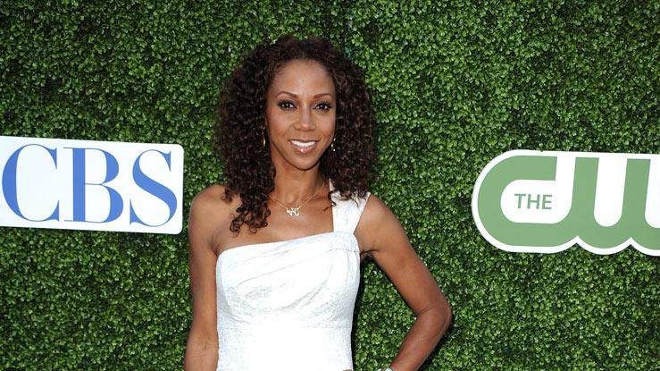 """The Talk's"" Holly Robinson-Peete arrives at the TCA Summer 2010 CBS/The CW/Showtime ""Star Party in the Tent"" on July 28, 2010 in Beverly Hills, California."