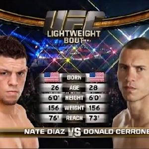 TUF 18 Finale Free Fight: Diaz vs. Cerrone