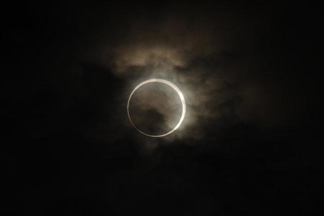 Annular Solar Eclipse Observed…