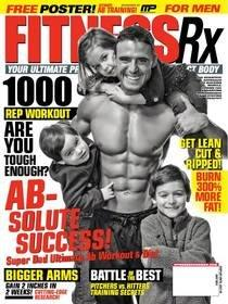 MusclePharm Executive V.P. and Co-Founder, Cory Gregory, Featured on Cover of July Edition of Fitness Rx Magazine