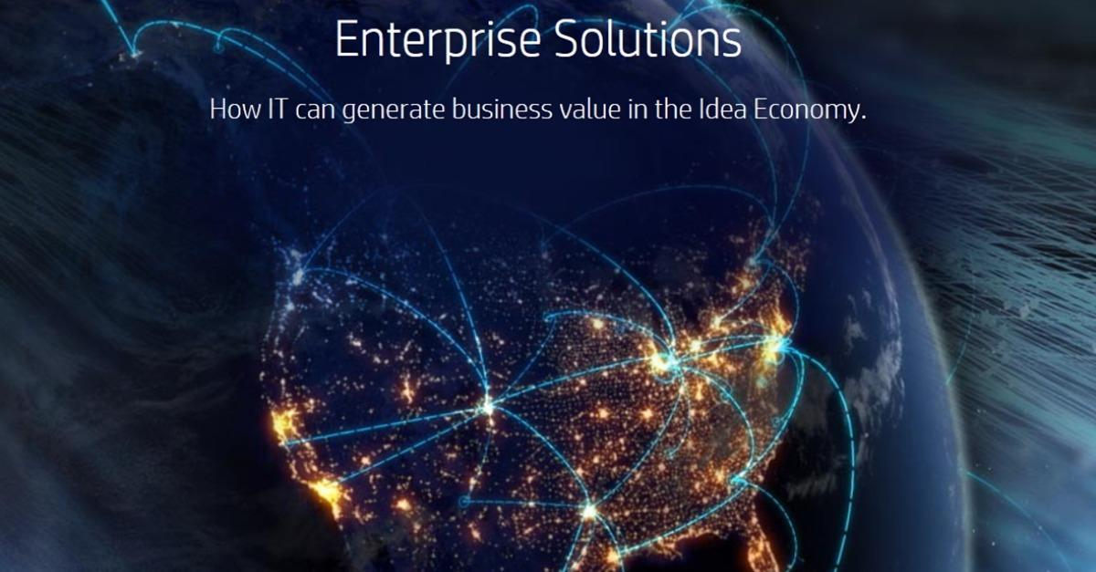 Generate Business Value W/ HP Enterprise Solutions