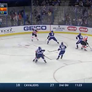 Ben Bishop Save on Pierre-Edouard Bellemare (05:26/2nd)