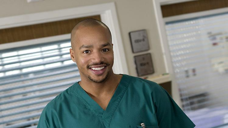 Donald Faison stars as Chris Turk in Scrubs.