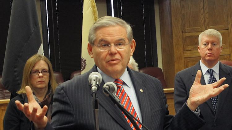 Menendez pushes delay to flood insurance hikes