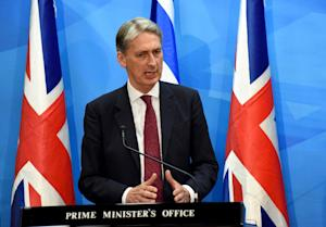 "British Foreign Secretary Philip Hammond ""will …"