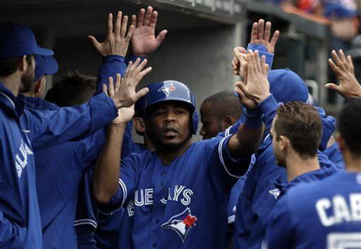 Blue Jays rally against 'pen to beat Tigers 8-6