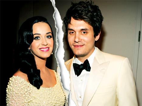 Katy Perry, John Mayer Split for Second Time