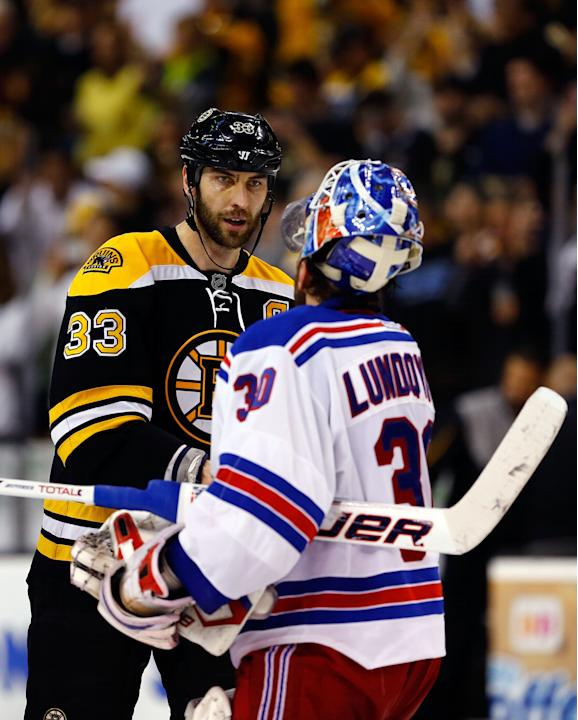 New York Rangers v Boston Bruins - Game Five