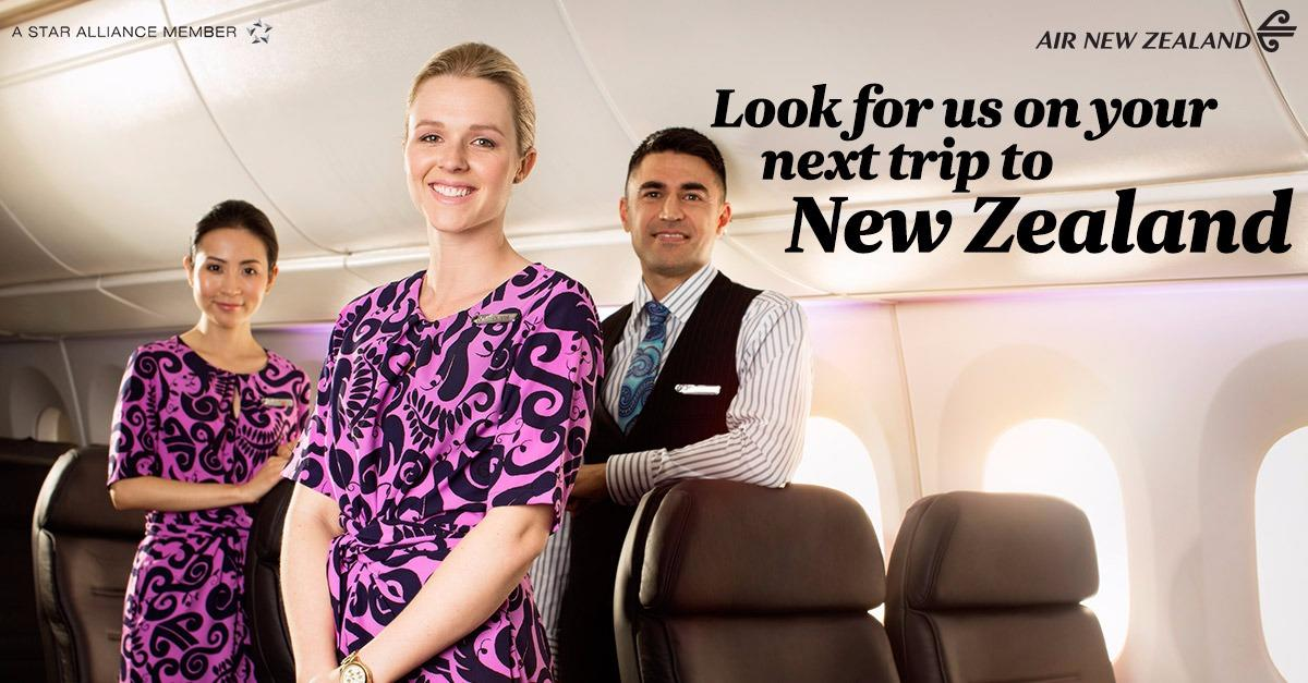 Air New Zealand Flight Sale