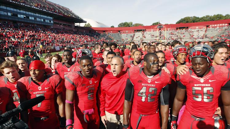 Rutgers has one game left until Big Ten in 2014