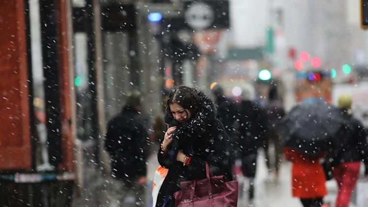Major Snowstorm Bears Down On New York City