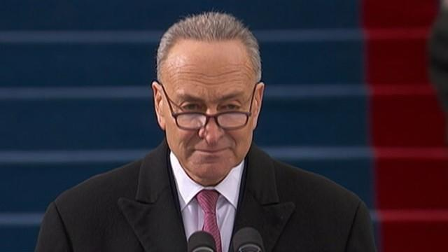 Sen. Charles Schumer Opens Inaugural Ceremony