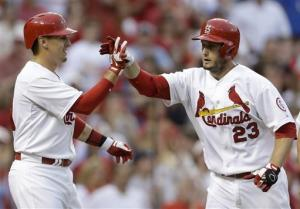 Freese hits slam, Cardinals hold off Brewers 7-6