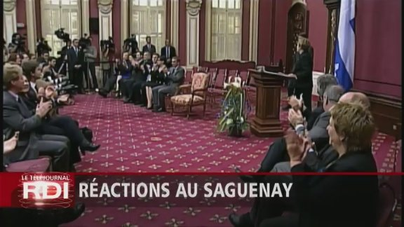 Quebec&amp;#39;s Premier Pauline Marois was sworn-in at the National Assembly