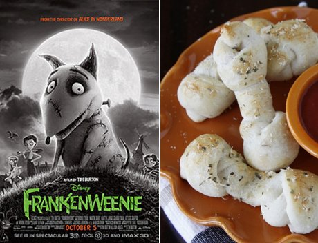 Frankenweenie: Dog Bone Breadsticks