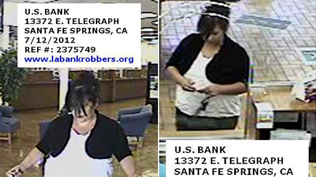 'Plain Jane Bandit' Goes on Bank Robbery Spree (ABC News)