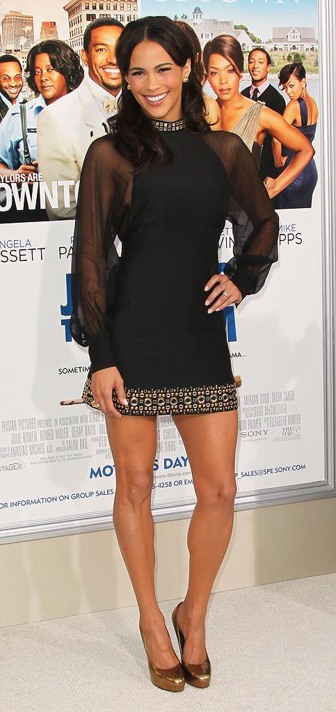 Jumping the Broom LA Premiere 2011 Paula PAtton