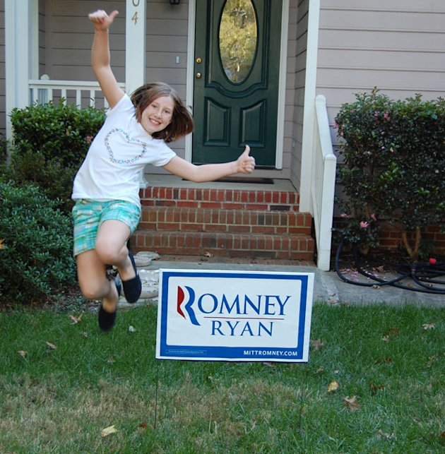Swing-state stories: I use Vaseline to protect my signs from vandalism
