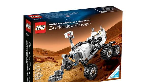 Mars Curiosity Rover LEGO Model Set for New Year's Day Release