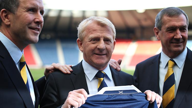 Gordon Strachan Unveiled As Scotland's New National Coach