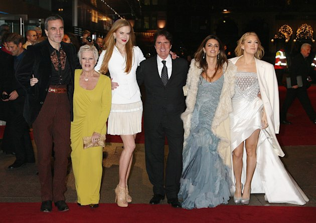 Nine UK Premiere 2009 Daniel Day Lewis Judi Dench Nicole Kidman Rob Marshall Penelope Cruz Kate Hudson
