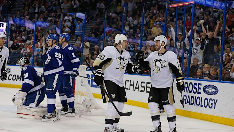 Pittsburgh Penguins v Tampa Bay Lightning