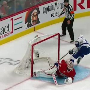 Stamkos shakes and bakes for breakaway beauty