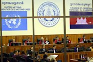 The United Nations says it has secured a loan to pay Cambodian employees at the Extraordinary Chambers in the Courts of Cambodia, which is holding the Khmer Rouge war crimes trials, who are striking over unpaid wages