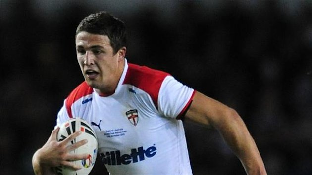 Sam Burgess will miss England's game against Ireland on Saturday