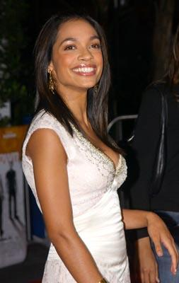 Rosario Dawson at the LA premiere of Universal's The Rundown