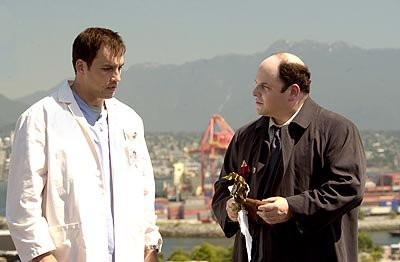 "Tyler Christopher as Dr. Jay Ferguson, a young intern suddenly confronted with a patient who claims to be Death incarnate (Jason Alexander) UPN's ""The Twilight Zone"" - 2002 Twilight Zone"