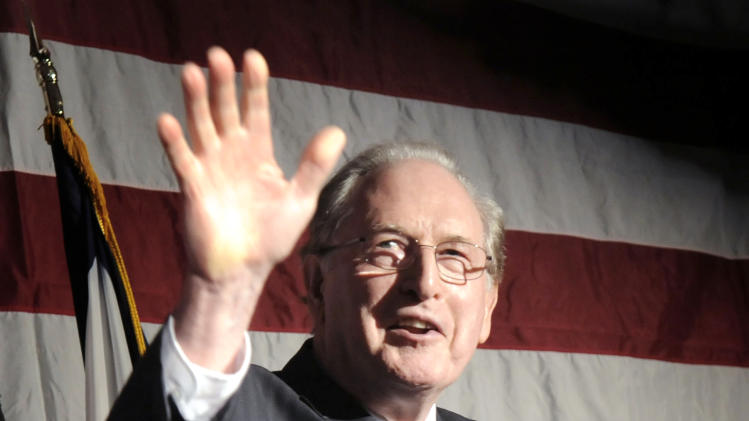 FILE -In this Tuesday, Nov. 2, 2010 file photo, Sen. Jay Rockefeller, D-W.Va, speaks at a U.S. Senate election party for Gov. Joe Manchin, in Charleston, W.Va. U.S. Sen. Jay Rockefeller said Friday, Jan. 11, 2012, that he will not seek a sixth term in 2014, a half-century after he emerged from one of America's most recognizable dynasties to land in West Virginia and climb atop its political ranks. (AP Photo/Jeff Gentner, File)