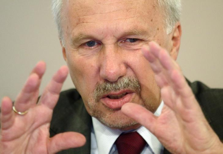 ECB's Nowotny - euro zone inflation may turn negative