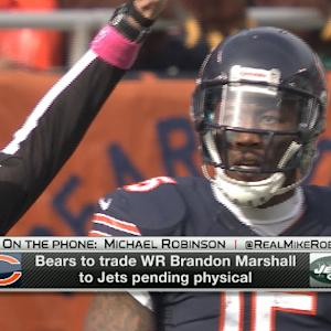 NFL Media's Michael Robinson: New York is a good fit for Brandon Marshall