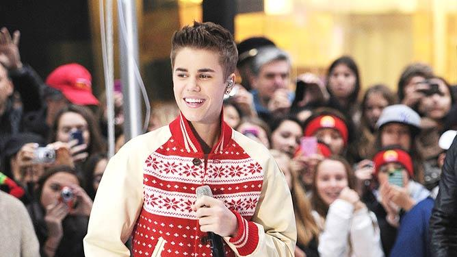 Justin Bieber Today Show Performance